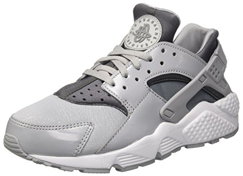 Air black Grey Femme Sneakers Gris Huarache Basses Cool Wolf NIKE Run Grey dq6wOOP