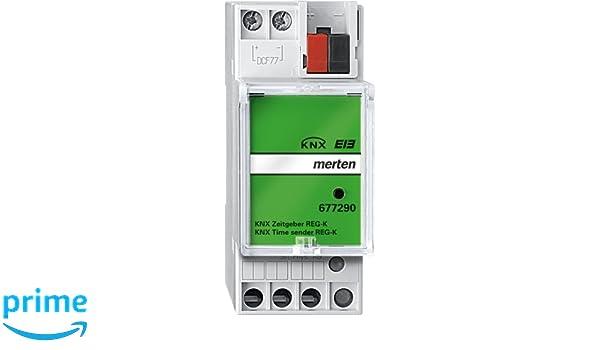 Merten 677290 KNX REG-K - Temporizador, color gris: Amazon.es: Bricolaje y herramientas