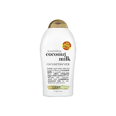 Organix Nourishing Coconut Milk Conditioner 50% Free, 19.5oz (Organics Coconut Conditioner)