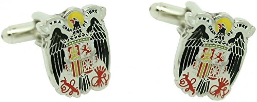 MasGemelos - Gemelos Águila de San Juan Cufflinks: Amazon.es: Joyería
