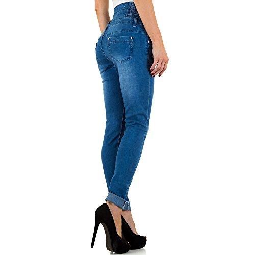 iTaL-dESiGn - Vaqueros - skinny - para mujer Azul