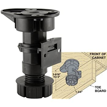 Charmant Platte River 154505, Hardware, Casters And Glides, Adjustable Glides, Cabinet  Leveling Legs