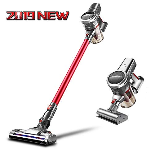 OUNUO Cordless Stick Vacuum Cleaner C09 with Extra Mite Brush, Portable Lightweight 3 in 1 Cordless Vacuum with 9000Pa Suction for Floor Carpet Laminate Tile Cleaning