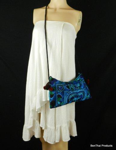 BenThai Products, Borsa a tracolla donna blu Multicolor