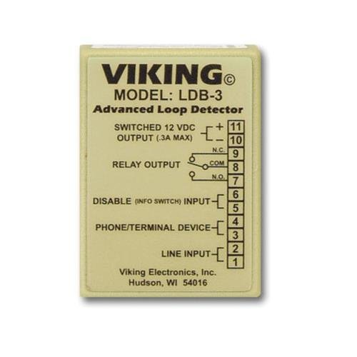 Viking Electronics VK-LDB-3 Loop and Ring Detector (Ring Detect Relay)