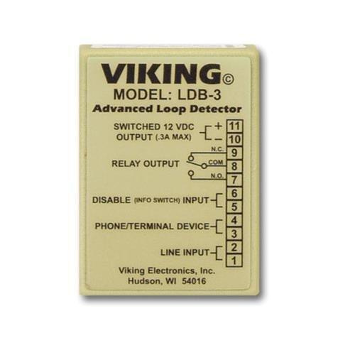 Viking Electronics VK-LDB-3 Loop and Ring Detector Board - Ldb 3 Loop