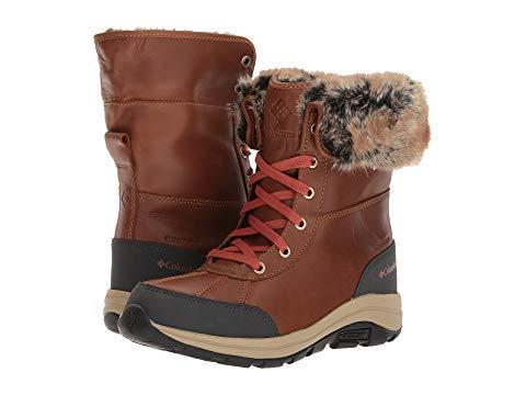 [Columbia(コロンビア)] レディースブーツ靴 Bangor Omni-Heat Black/Monument US 10.5 (27.5cm) B - Medium [並行輸入品]   B07JD36HQW