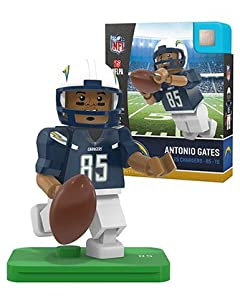 Antonio Gates OYO Los Angeles Chargers Generation 4 G4 Mini Figure