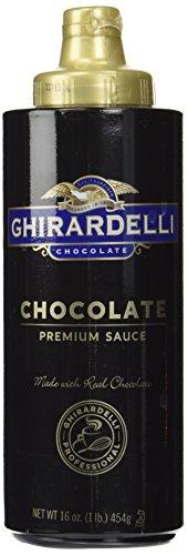 Ghirardelli Chocolate Sauce, Black Label (16oz Squeeze bottle)