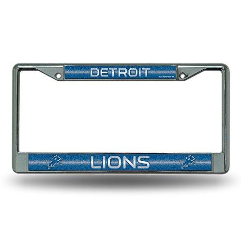 Price comparison product image NFL Detroit Lions Bling Chrome Plate Frame