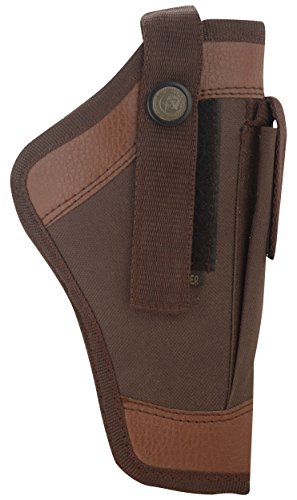 Shah Unisex Leather 9mm Pistol Cover, Brown Price & Reviews