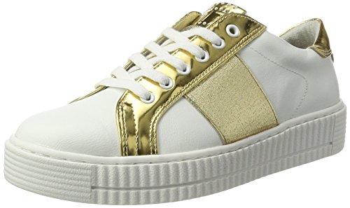 Femme 23719 Tozzi Marco Blanc 172 white Basses Sneakers gold qgzxOxI