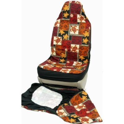 - Hawaiian Car Seat Covers, Brown Sea Turtle, set of 2 Front Bucket seat covers, Made in Hawaii USA