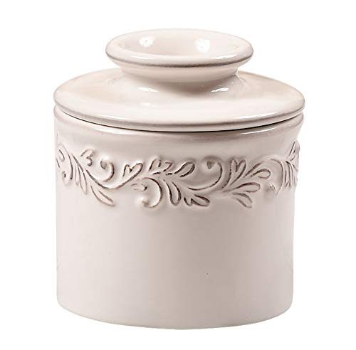 - The Original Butter Bell Crock by L. Tremain, Antique Collection - White Linen