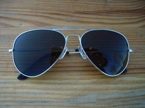 ALPLAND Pilotenbrille - Sonnenbrille - Black inkl.Softbag 0yjyW