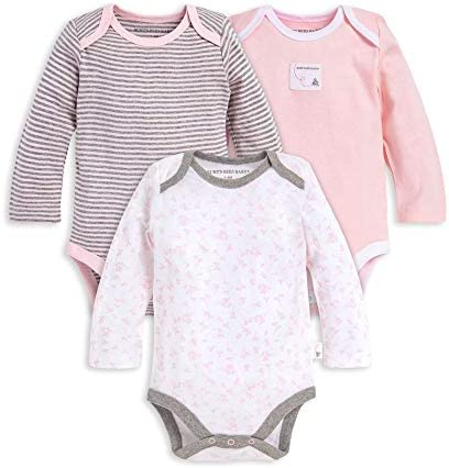Burts Bees Baby Short Sleeve One Pieces