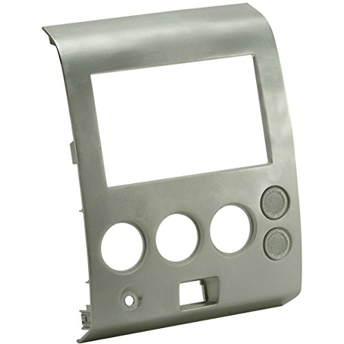 Metra 99-7406 Single DIN/Double DIN Installation Kit for 2004-2006 Nissan Titan and Armada Vehicles without Climate Controls (Gray) ()