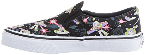 Vans Calssic Toy Story Buzz Lightyear Kids Slip-On Shoes-3 (Buzz Lightyear Shoes)