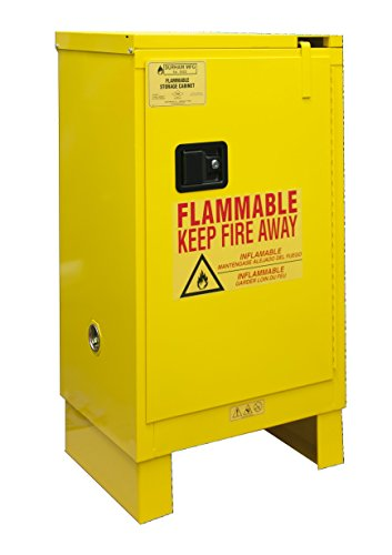 Durham 1012SL-50 Flammable Safety Cabinet with 1 Self Closing Door and Legs, 23