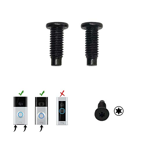 Ring Doorbell Replacement Security Screws (2 Pack)