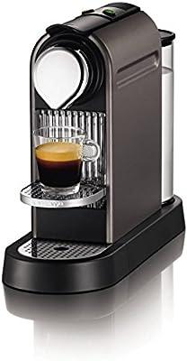 Nespresso CitiZ por Krups XN720T40 Cafetera - Titanium: Amazon.es: Hogar