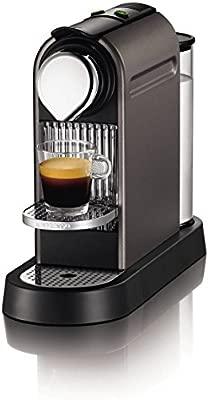 Nespresso CitiZ por Krups XN720T40 Cafetera - Titanium ...