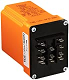 ATC TDE-120-AFB-20H Time Delay Relay Interval on Operate Relay Output, 120 VAC/DC, Fixed Enclosure from 12 minutes to 20 hours, Blade Plug-In