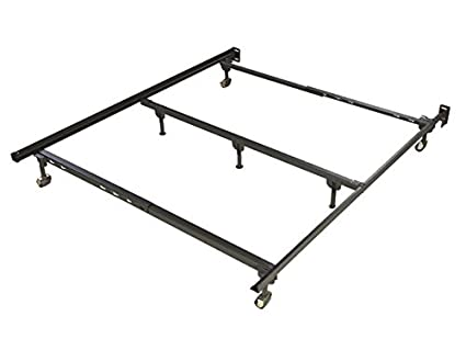 Amazon.com: Glidaway Iron Horse Deluxe Rug Roller Bed Frame - 7 Leg ...