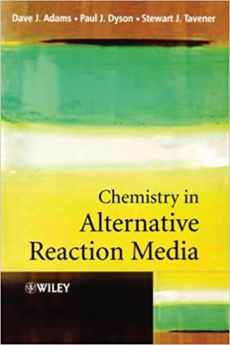 Chemistry In Alternative Reaction Media Downloads Torrent