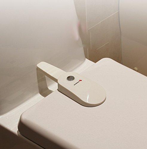 Inovey Bl-979 Badezimmer-Wc-Verschluss Baby Sicherheit Sicherheit S/äuglings Schrankschloss Schrankschl/össer /& Riemen Wc Kindersicherung Schutz