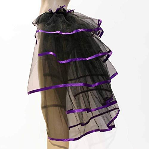 Court Clubwear Jupe Femmes Mini Dansant Robe Violet Gaze Mode Dentelle Tutu Plisse Adulte De Jupes Moonuy En Sqzpq
