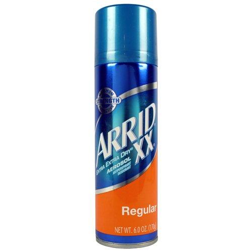 Arrid XX antisudorifique / désodorisant, A / P Deo, vaporisateur de parfum régulier, 6 onces (Pack de 6)