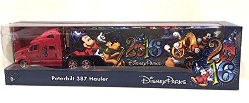 Disney Parks 2016 Peterbilt 387 Hauler Diecast Model Truc...