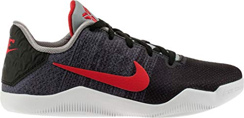 2545ca6426e1 Nike Kid s Kobe XI Elite GS Basketball Shoes 7Y M US Black Grey Red
