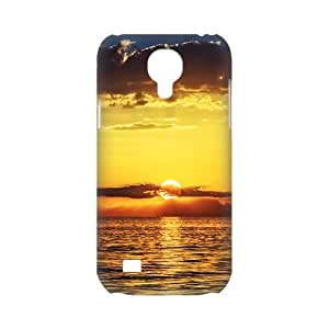 Snap-on Beautiful Scenery Sunset and Sunrise Hard Plastic Protective Case Back Cover Shell for SamSung Galaxy S4 mini-2