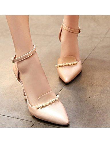 PU uk4 Zapatos mujer Blanco eu39 Tacones uk6 ZQ us8 uk6 pink Rosa Tacones Stiletto eu39 Azul de Negro us6 cn39 pink Tac¨®n us8 cn36 pink Casual cn39 eu36 FdwnnE8q