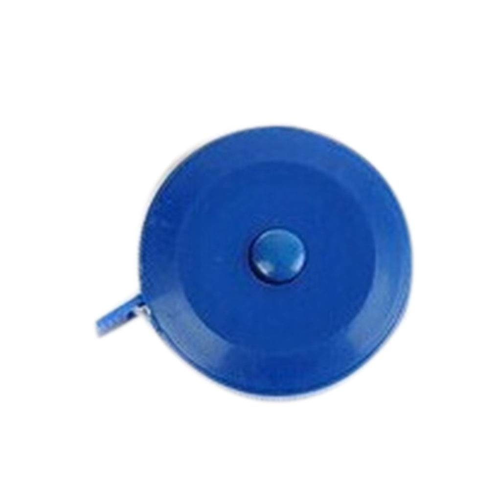 2Pcs Automatic Retractable Cloth Body Mini Measuring Tape Dual Sided Plastic Sewing Tools Mixed Color Regard Regard Natral