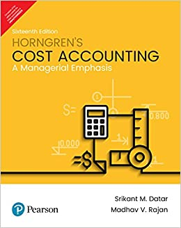 Buy Horngren's Cost Accounting Book Online at Low Prices in