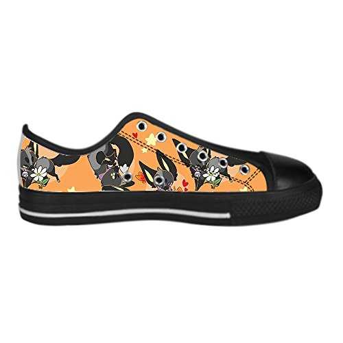 Dalliy Custom Fox Womens Canvas Shoes Schuhe Lace-Up High-Top Footwear Sneakers B
