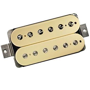DIMARZIO dp103cr PAF 36th aniversario pastilla Humbucker para guitarra eléctrica color crema w/Bonus Deluxe Rock Island sonido Púas (X3) 663334002920: ...