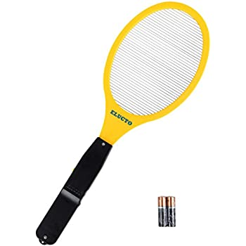 Elucto EB-146 Electric Bug Zapper Fly Swatter Zap Mosquito Best For Indoor And Outdoor Pest Control, Aa Batteries Included