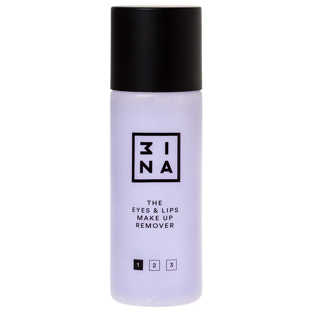 3INA Makeup Cruelty Free Paraben Free Vegan Eyes & Lips Make Up Remover 125 ml by 3ina