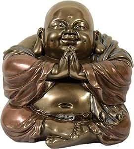 Figura de Buda feliz sentado escultura de Ángel feliz