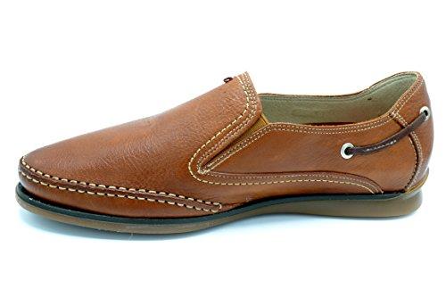 Fluchos 7580 Tornado Cuero - Zapato de Caballero Sin Cordones