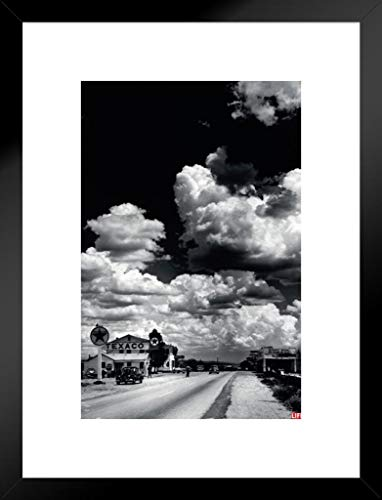 (Pyramid America Time Life Route 66 Arizona Photo Art Print Matted Framed Poster 20x26 inch)