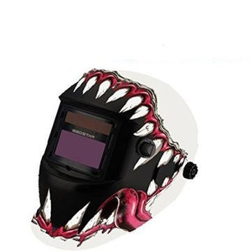Electrical Welding Tools Helmet Mask & Goggles - Fangs Style Solar Welder Mask Auto Darkening Welding Helmet Mig Grinding by Unknown (Image #1)