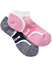 Bonds Women's Cotton Blend Ultimate Comfort Low Cut Socks (2 Pack)