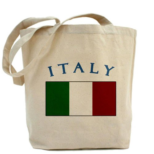 Italy Flag Italian Tote Bag by CafePress by CafePress
