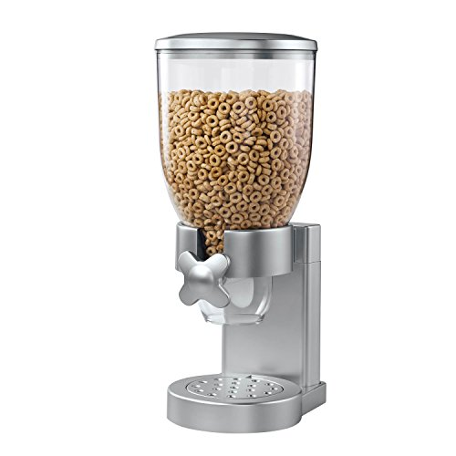 Zevro KCH-06119/GAT102 Indispensable Dry Food Dispenser, Single Control, Silver