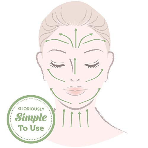 Jade Roller - Facial Skin Massager For Slimming Firming Reduce Wrinkles and Skin Rejuvenate - Original Natural Jade with Gua Sha - Handmade